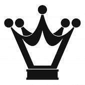 Princess Crown Icon. Simple Illustration Of Princess Crown Icon For Web poster