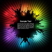 image of clubbing  - EPS10 Party People Vector Background  - JPG