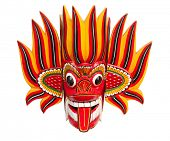 picture of sinhala  - Fire Mask  - JPG