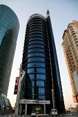 The Qatar Financial Centre building in Doha, which is at the heart of the gas-rich state's efforts t