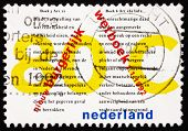 Postage stamp Netherlands 1992 New Civil Code