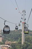 Singapore to Sentosa Cable Cars
