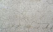 foto of loam  - full frame natural background with fissured dry loam - JPG