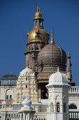 stock photo of saracen  - Towers and domes of the Maharajah - JPG
