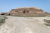 pic of ziggurat  - Choqa Zanbil ziggurat near Shush in Iran - JPG