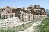 stock photo of shiraz  - Ruins of Ardeshir - JPG