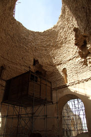 stock photo of zoroastrianism  - Inside zoroastrian temple Qal - JPG