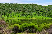 stock photo of meteorite  - Tswaing Meteorite Crater Reserve - JPG