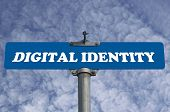 Digital identity road sign