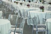 pic of banquet  - galleries with classic equipment for banqueting and catering - JPG