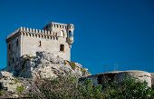 stock photo of tarifa  - Exterior of Castillo de Santa Catalina - JPG