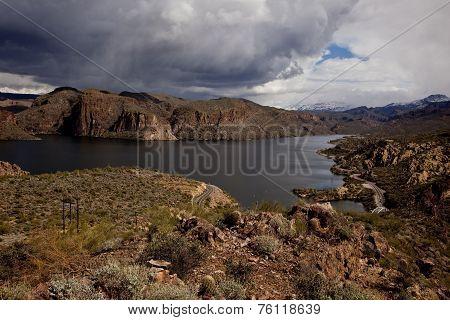 canyon Lake Near Phoenix Arizona