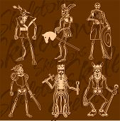 picture of knights  - Skeletons  - JPG