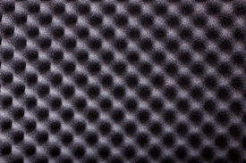 pic of pyramid shape  - texture of microfiber insulation for noise in music studio or acoustic halls or houses professional studio insulation material noise isolation noise isolating protective absorber wall - JPG