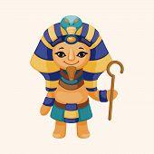 foto of pharaoh  - Pharaoh Theme Elements - JPG