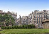 stock photo of fountains  - Spain - JPG