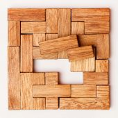 stock photo of parallelogram  - Puzzle Game - JPG