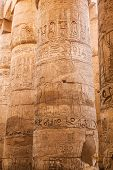 image of hieroglyph  - old egypt hieroglyphs carved on the stone - JPG