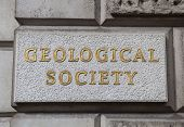 stock photo of burlington  - The Geological Society of London located on Piccadilly - JPG
