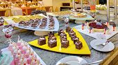 foto of buffet  - food buffet in restaurant - JPG