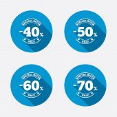 image of 50s 60s  - Sale discount icons - JPG