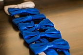 stock photo of tied  - Beautifull bow tie - JPG