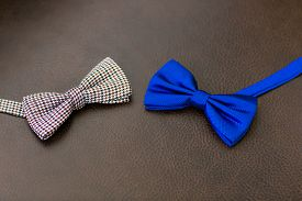 stock photo of bowing  - Beautifull bow tie - JPG