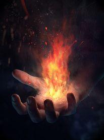 stock photo of sorcerer  - Sorcerer - JPG
