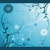 pic of dtp  - Blue floral design - JPG