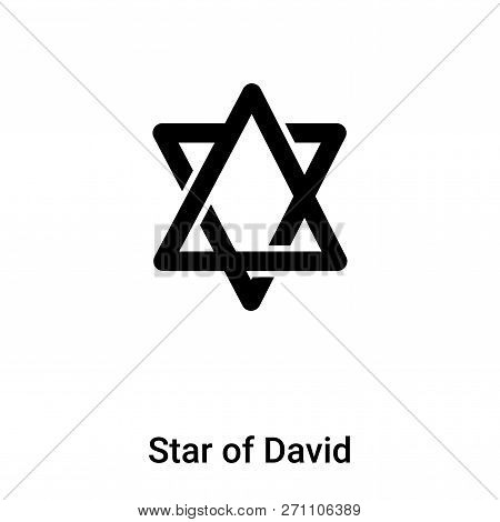Star Of David Icon In