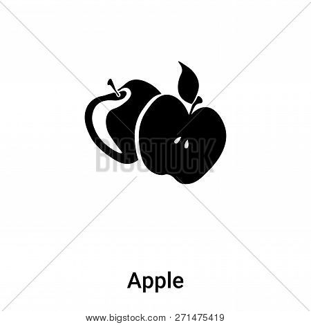 Apple Icon In Trendy Design