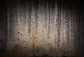 Old Black Vignetting Concrete Dirty Stone Cement Cracked Urban Texture poster