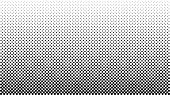 Halftone Vector Background. Monochrome Halftone Pattern. Abstract Geometric Dots Background. Pop Art poster