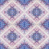 Abstract Seamless Acrylic Ornamental Pattern. Seamless Texture In Impressionism Style For Web, Print poster