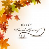 stock photo of thanksgiving  - Thanksgiving background - JPG