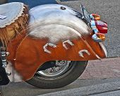 Anacortes, Wa - September 27 - Indian Motorcycle At Oyster Run