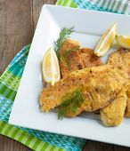 Cornmeal-crusted Tilapia