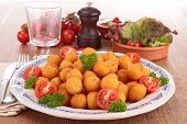 stock photo of dauphin  - dauphine potato - JPG