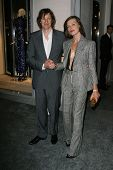 Paul WS Anderson and Milla Jovovich  at the Tom Ford Beverly Hills Store Opening, Tom Ford, Beverly