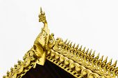 pic of apex  - Golden Swan Gable Apex  thai style  - JPG