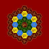 Om Hexagonal Chart