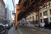 Chicago Elevated Train