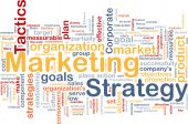 image of marketing strategy  - Word cloud concept illustration of marketing strategy - JPG