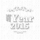 picture of happy new year 2014  - Happy new year 2014 easy editable art design - JPG