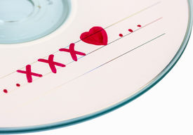 foto of x-rated  - CD or DVD x - JPG