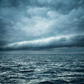 picture of typhoon  - Stormy Sea - JPG