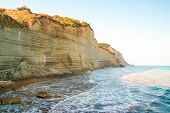foto of sidari  - Beautiful view of the beach early in the morning - JPG