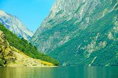 stock photo of fjord  - Tourism vacation and travel - JPG