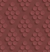pic of marsala  - Marsala color perforated paper with cut out effect - JPG
