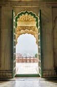 stock photo of india gate  - Entrance Gate of Jaswant Thada - JPG